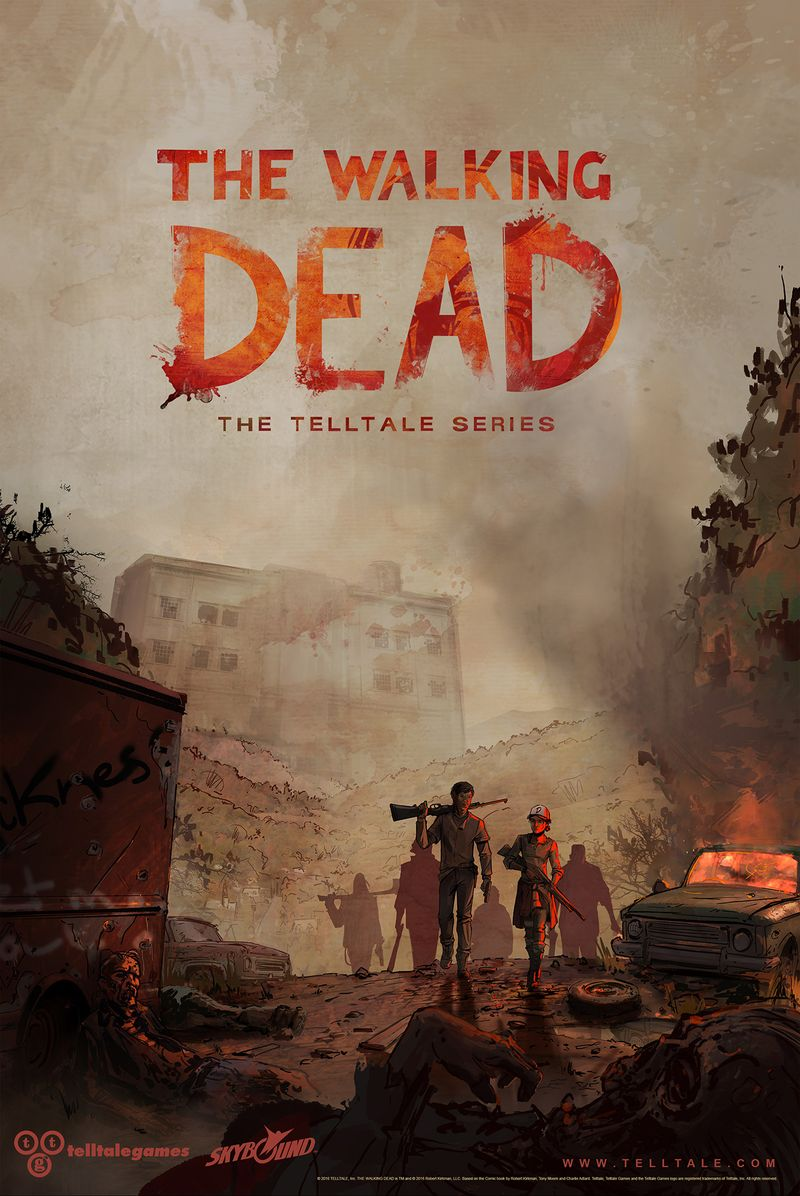 The Walking Dead trzeci sezon plakat