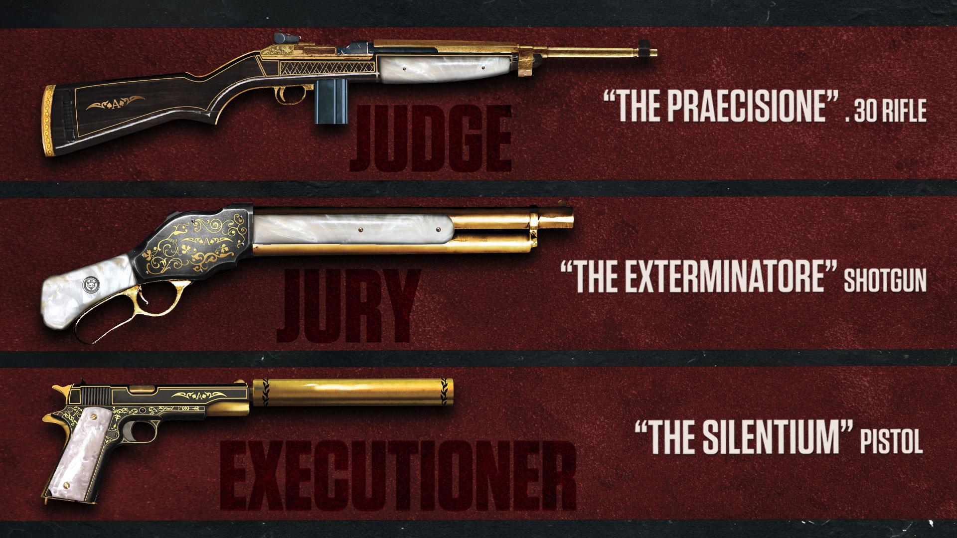 Mafia III - wyjątkowe bronie.