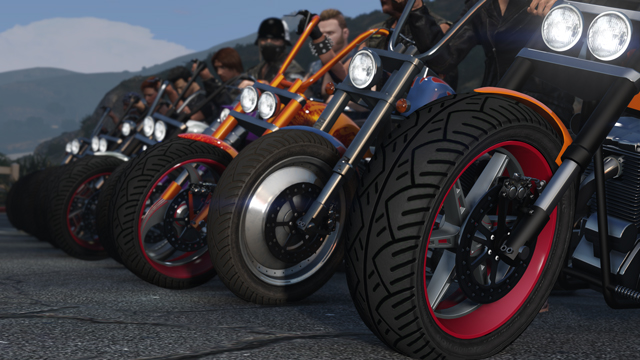 GTA Online Motocykle