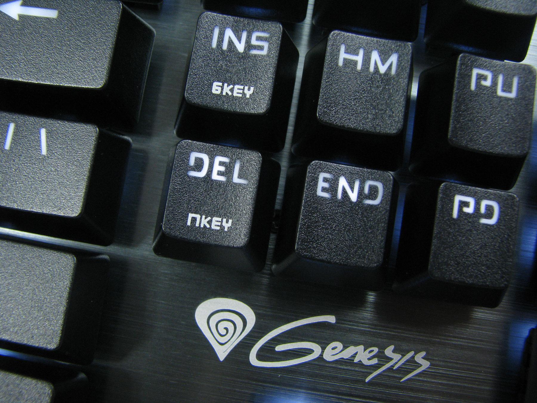 Natec Genesis RX85 w zasadzie mógłby posiadać jedynie NKEY.