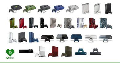Xbox wszystkie konsole