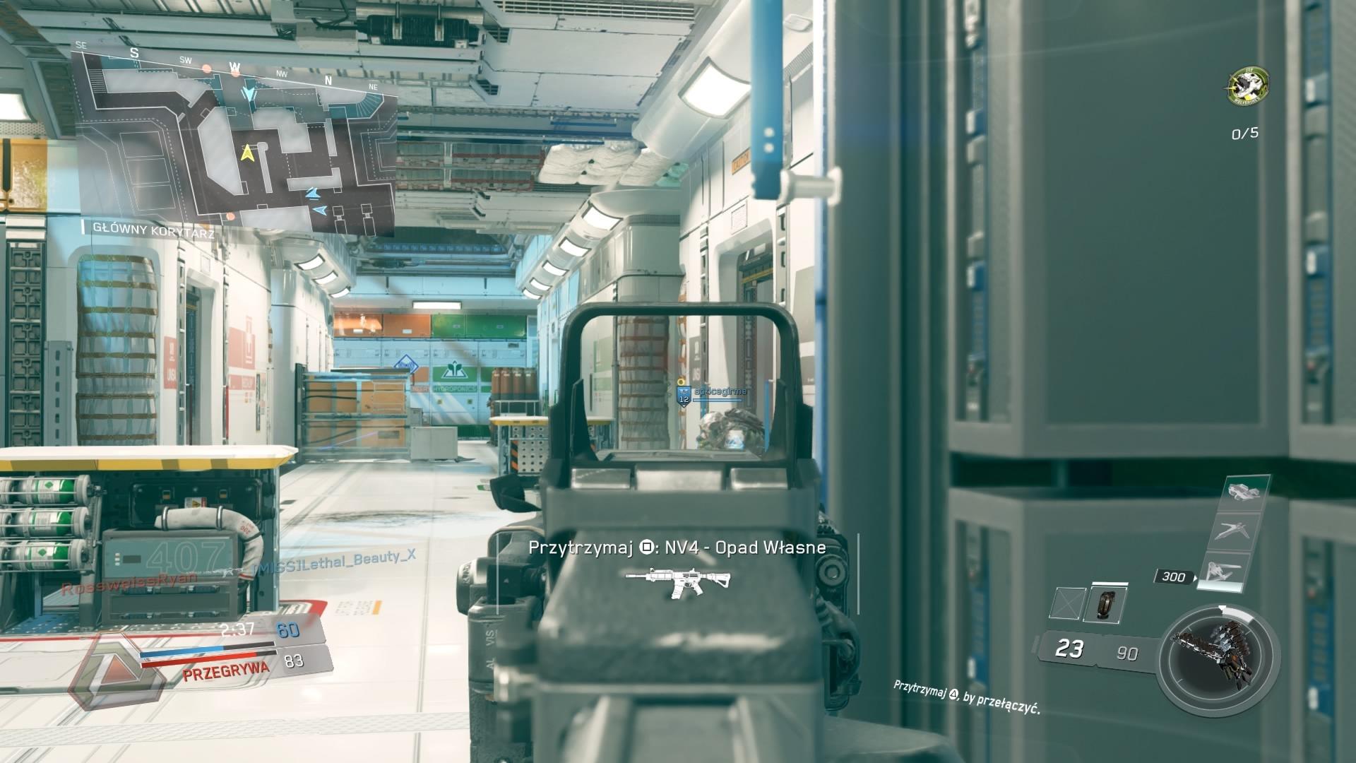 Multiplayer w Call of Duty Infinite Warfare wydaje się chaotyczny. Rozgrywka jest szybsza i bardziej dynamiczna niż w poprzednich odsłonach.
