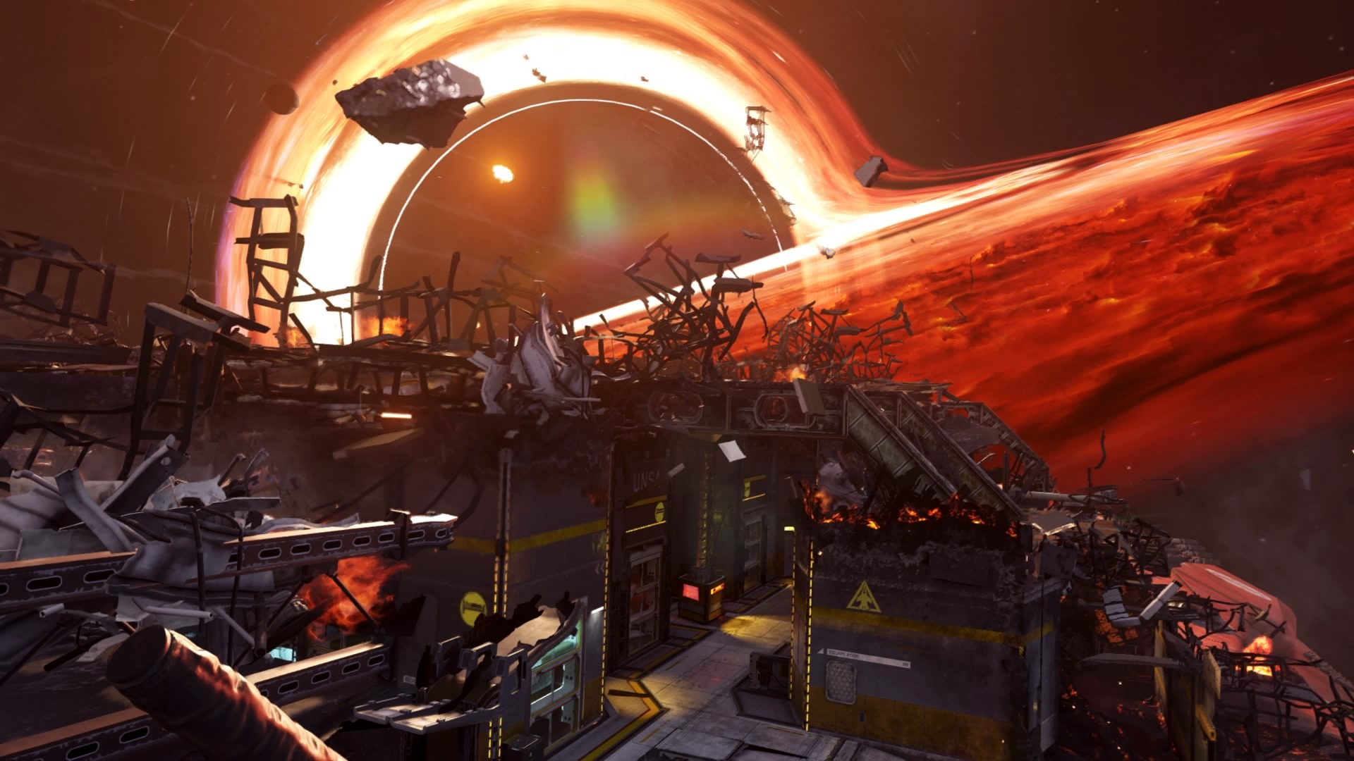 Mayday to jedna z ciekawszych map pod względem wizualnym w Call of Duty Infinite Warfare.
