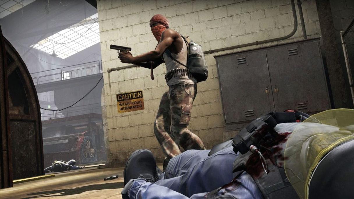 CS:GO terrorysta i zwłoki