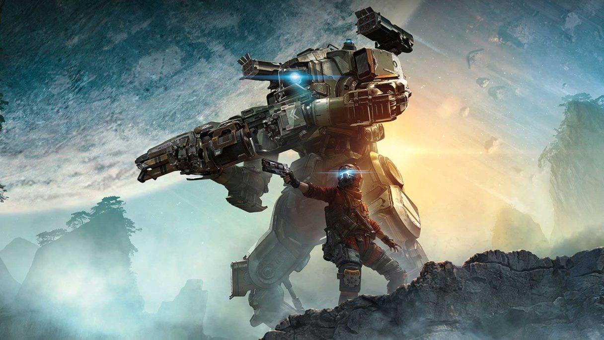 Mech i pilot z gry Titanfall 2