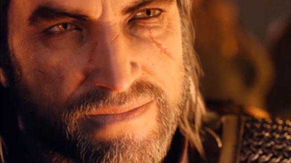 CD Projekt RED Geralt twarz