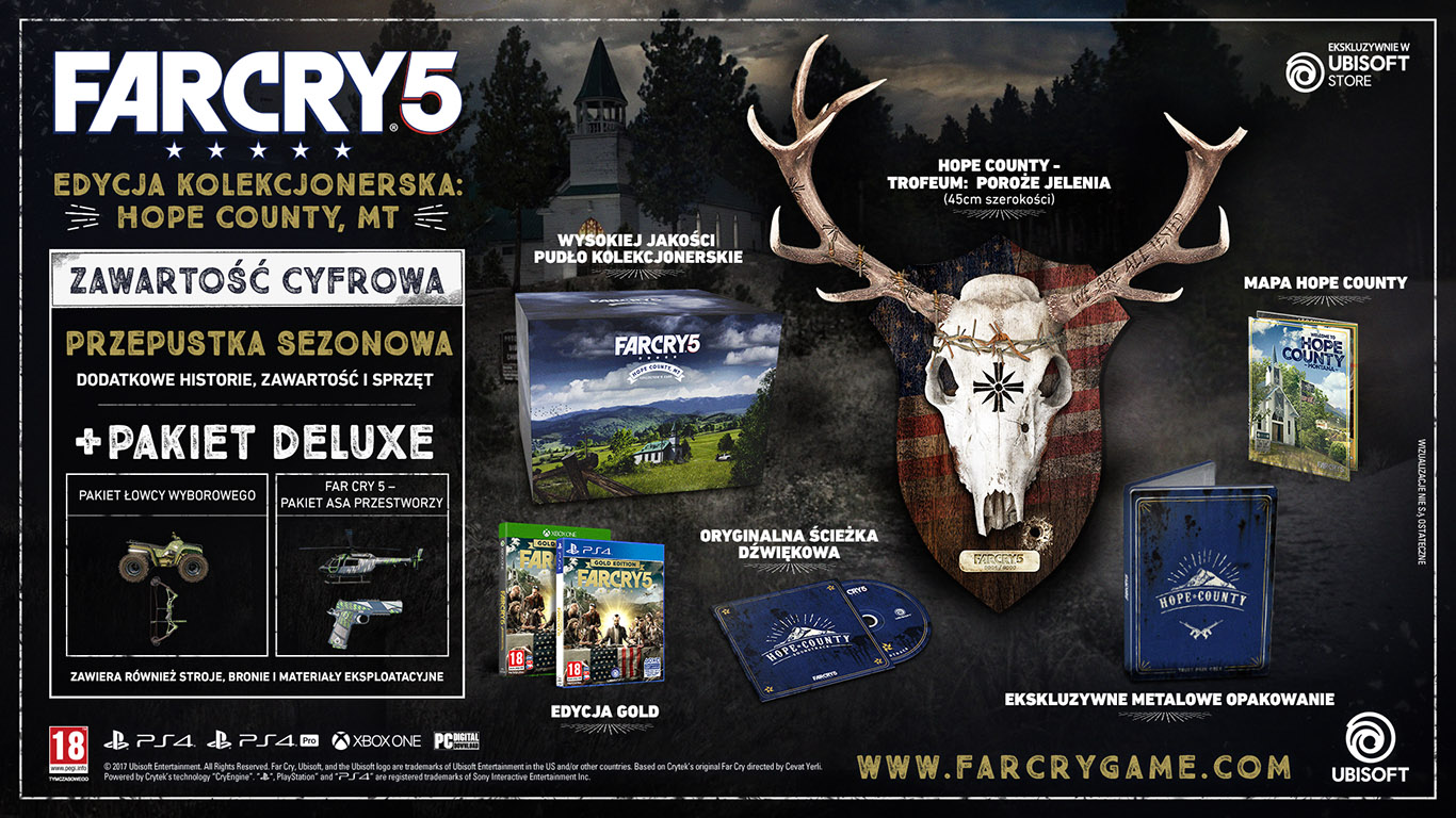Far Cry 5 - The Hope County, Montana Collector's Case