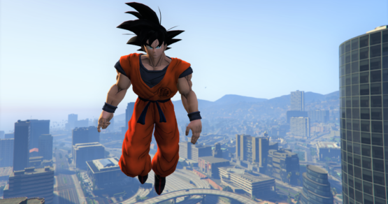 GTA V mod dragon ball