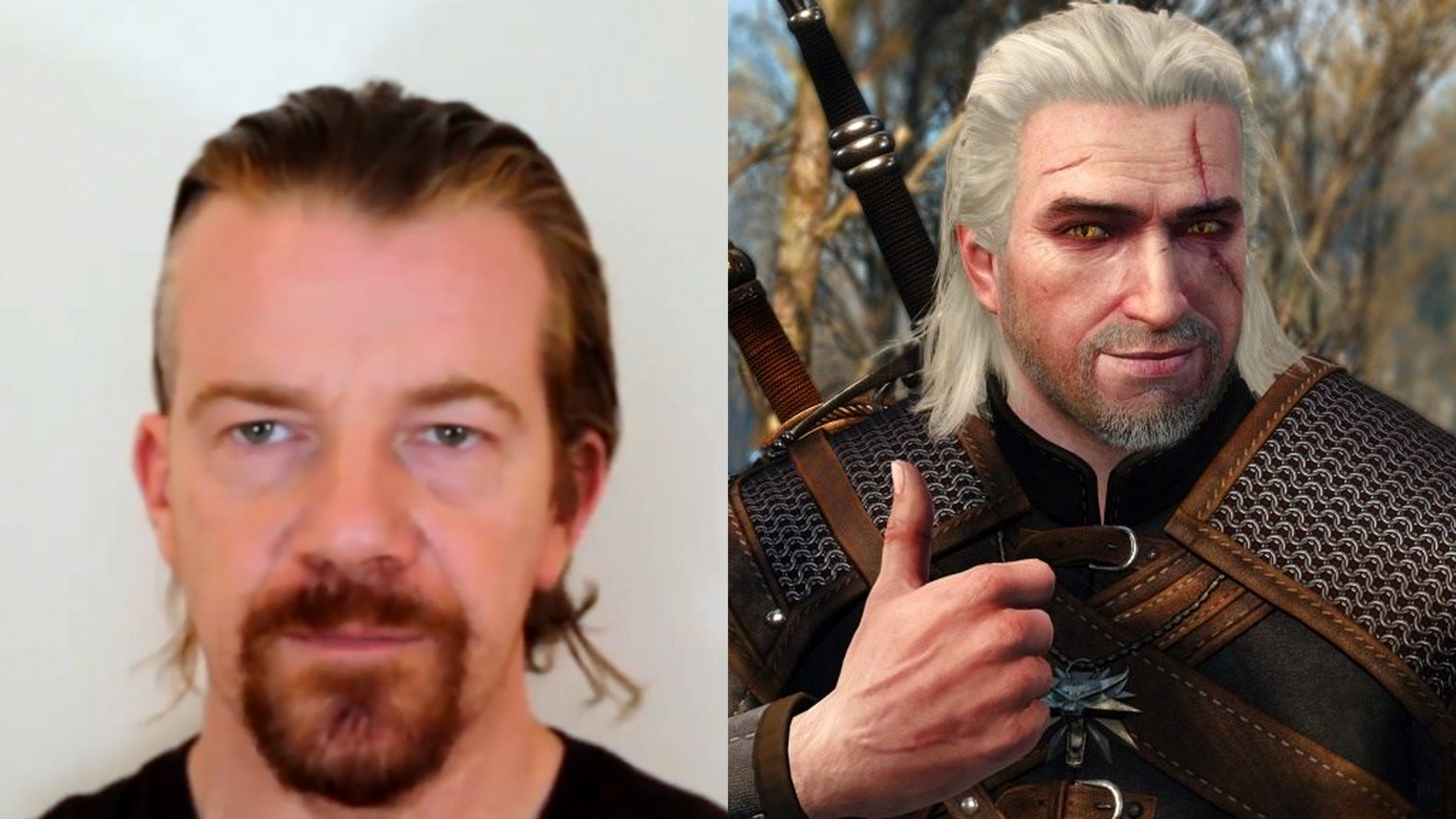 The Witcher Netflix series  Max Beesley in the role of Geralt?