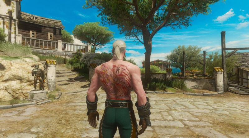 Wiedźmin 3 Zmienisz Geralta W Smoka Z Rivii Po Instalacji Nowego Moda