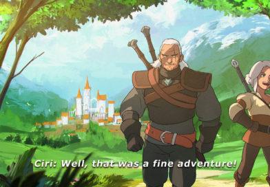 A co gdyby Geralta i Ciri przenieść do anime?