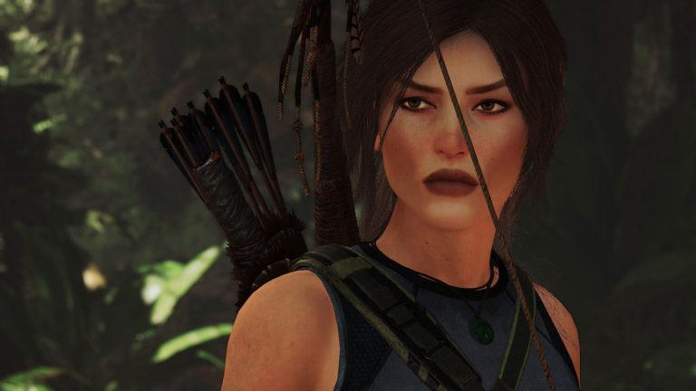 Twarz Lary Croft odmieniona dzięki nowemu modowi do Shadow