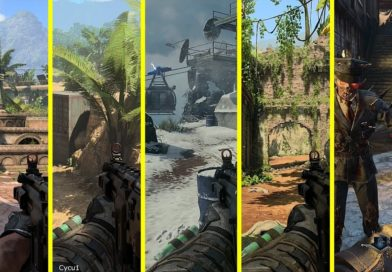 Mapy Call of Duty: Black Ops 4 vs Black Ops vs Black Ops 2