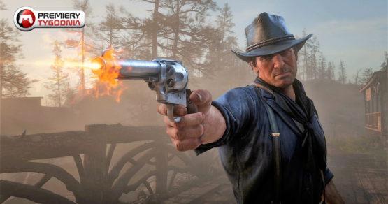 Premiery gier nowego tygodnia. Red Dead Redemption II i nowy Wiedźmin dominują zestawienie!