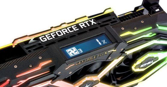 RTX 2070 iChill X3 Jekyll – karta graficzna z wyświetlaczem