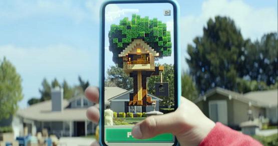 Darmowy Minecraft Earth na telefony. Nowa gra zapowiedziana