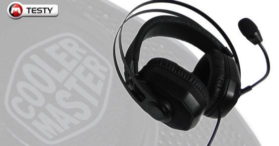 Test Cooler Master MH320 – niepozorne słuchawki z pazurem