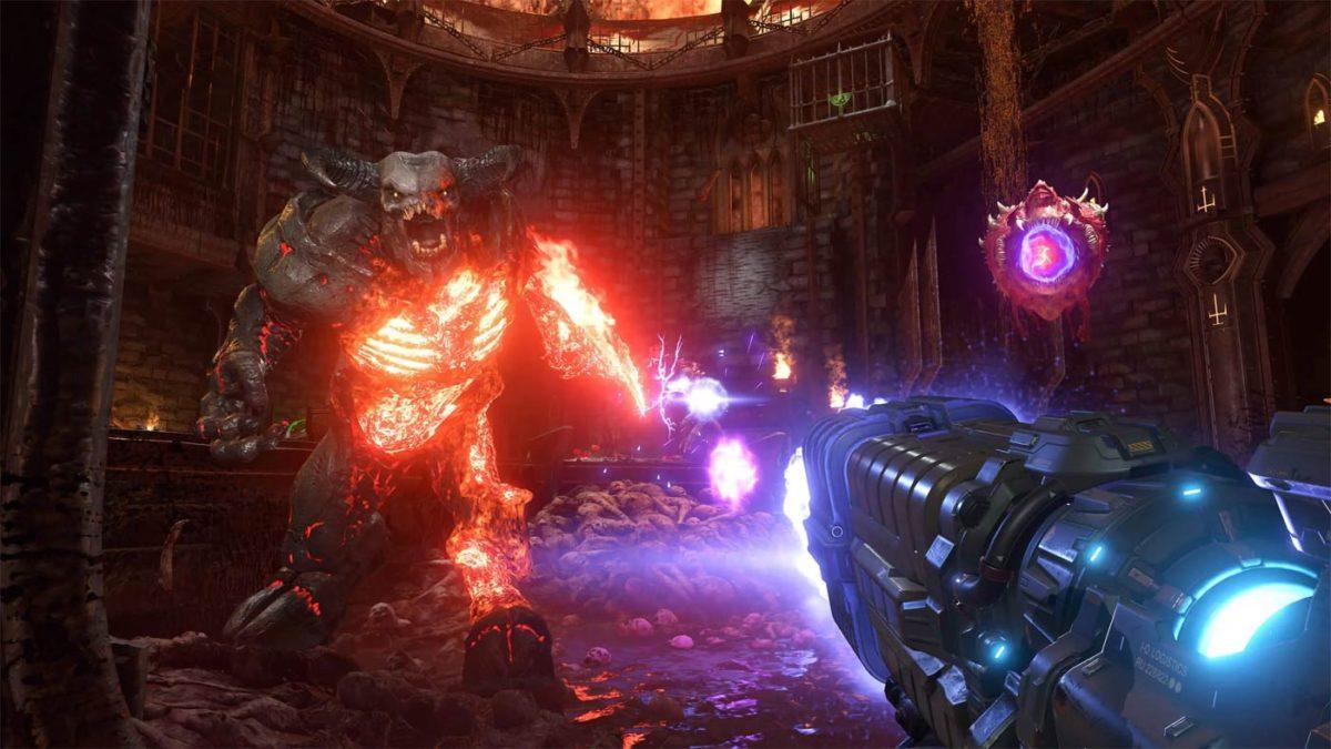 RTX Nvidia w Doom Eternal