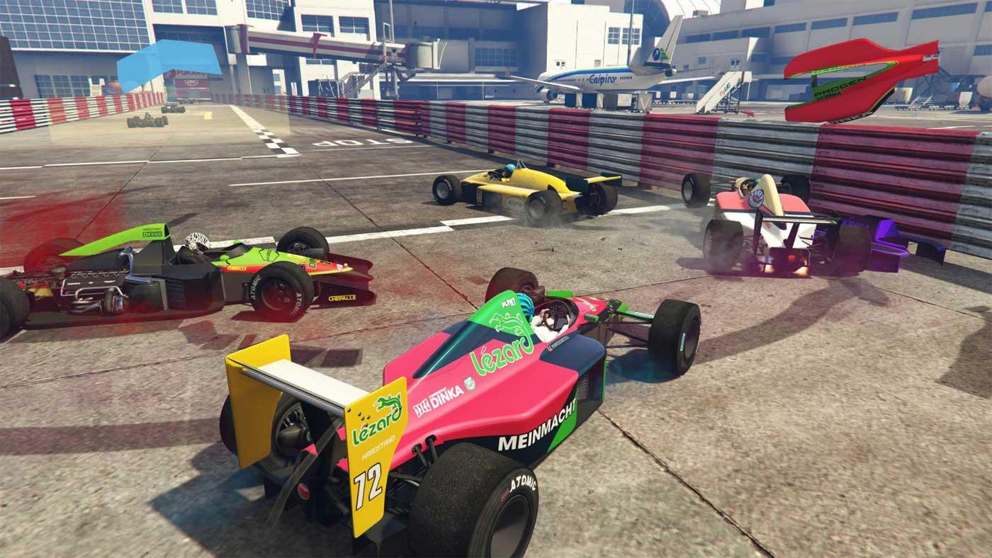 Samochody wyścigowe w GTA Online