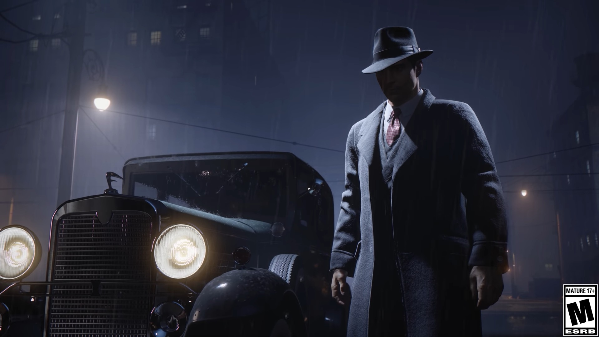 Mafia gangster wieczór