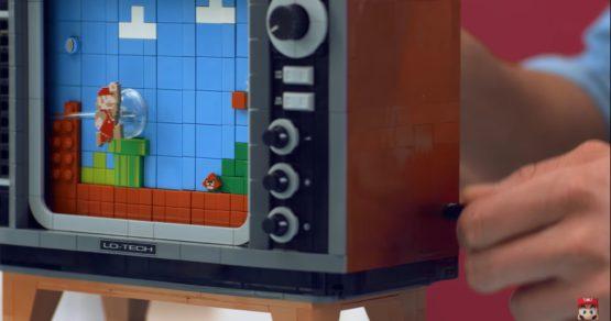 LEGO stworzyło NES-a na korbkę. Można na nim grać w Mario [WIDEO]