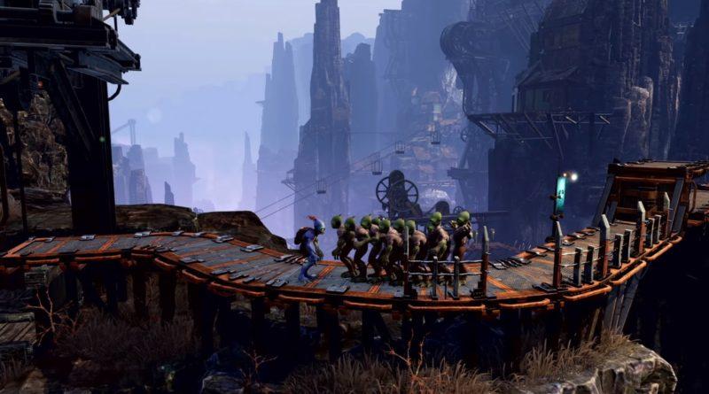Oddworld Odyssey PG