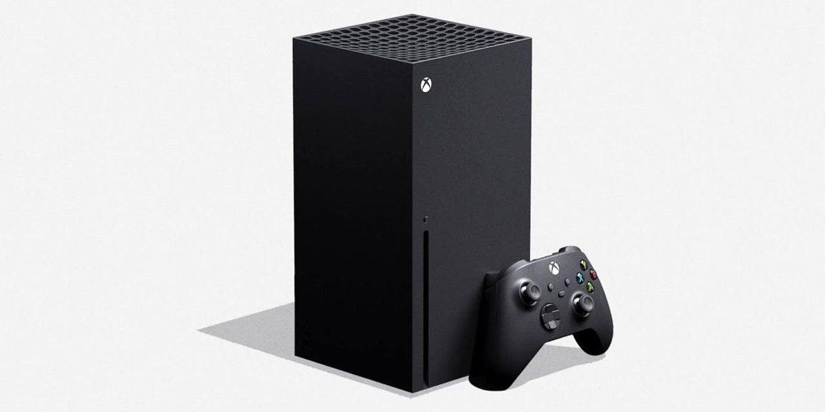 Konsola Xbox Series X z kontrolerem