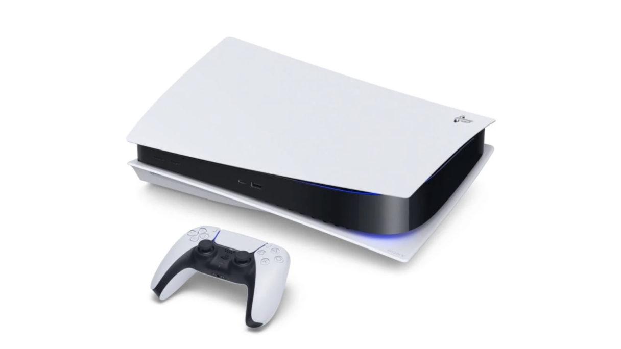 Konsola PS5 z kontrolerem dualsense