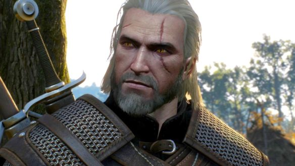 Geralt z gry Wiedźmin 3 od CD Projekt, które zrobiło Cyberpunk 2077