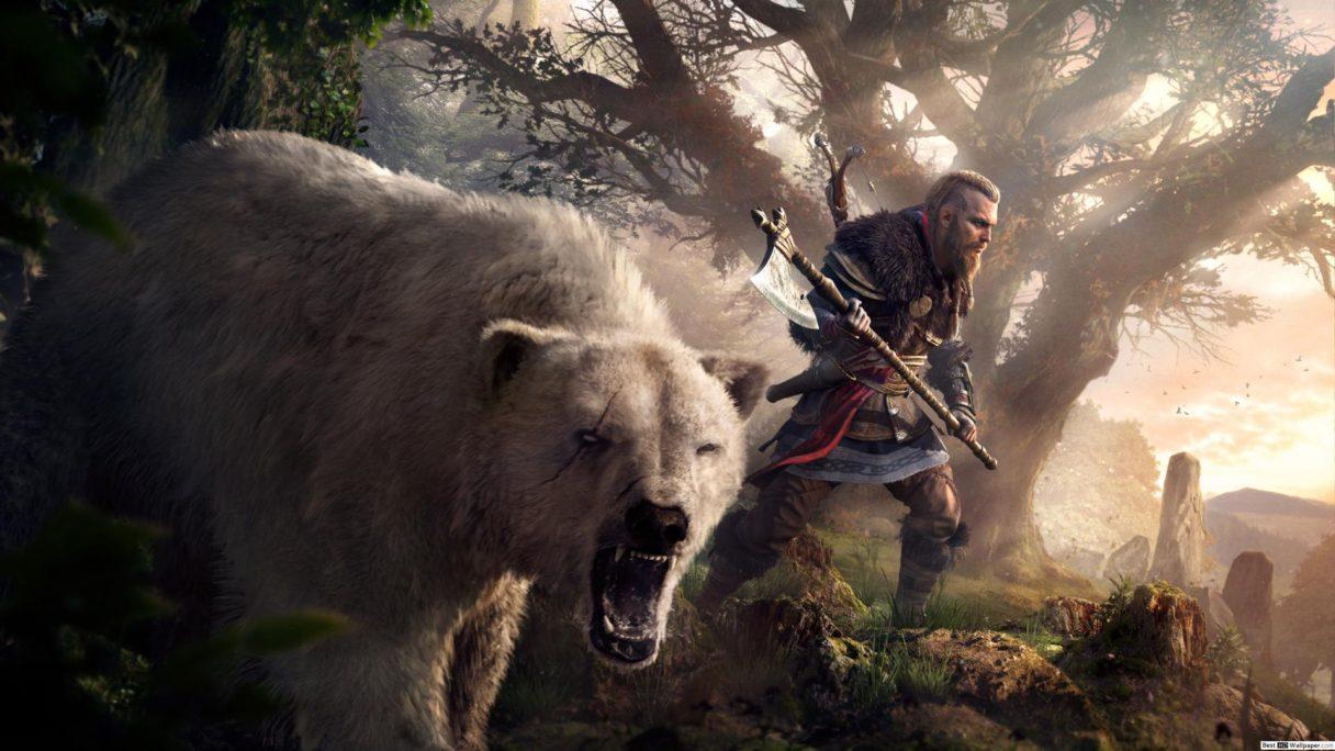 Assassin's Creed Valhalla niedźwiadek