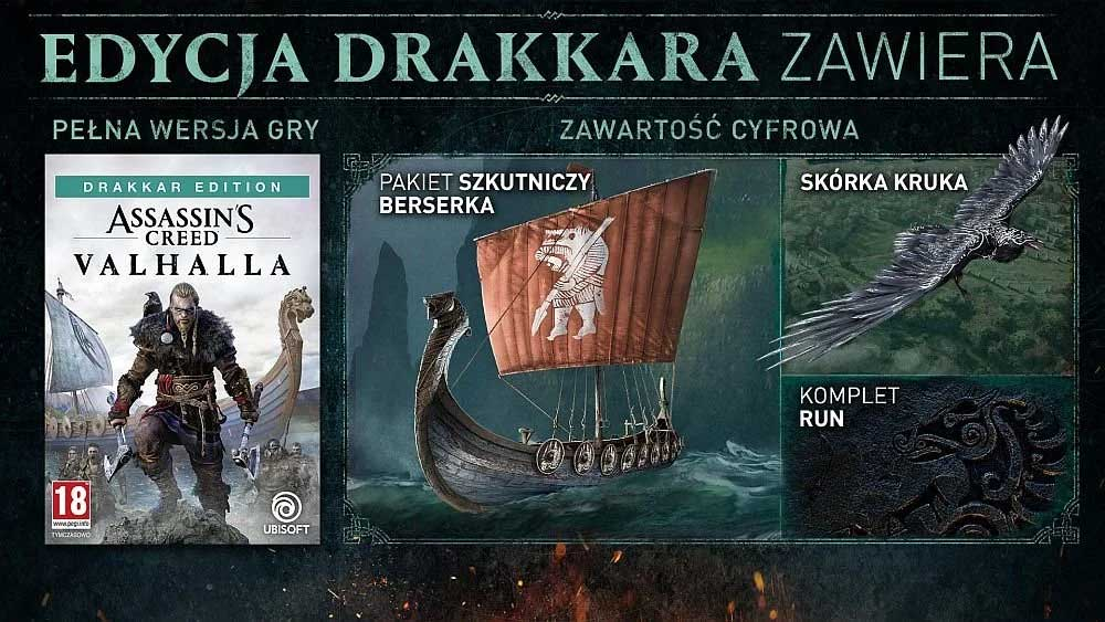 Assassin's Creed: Valhalla - Edycja Drakkar