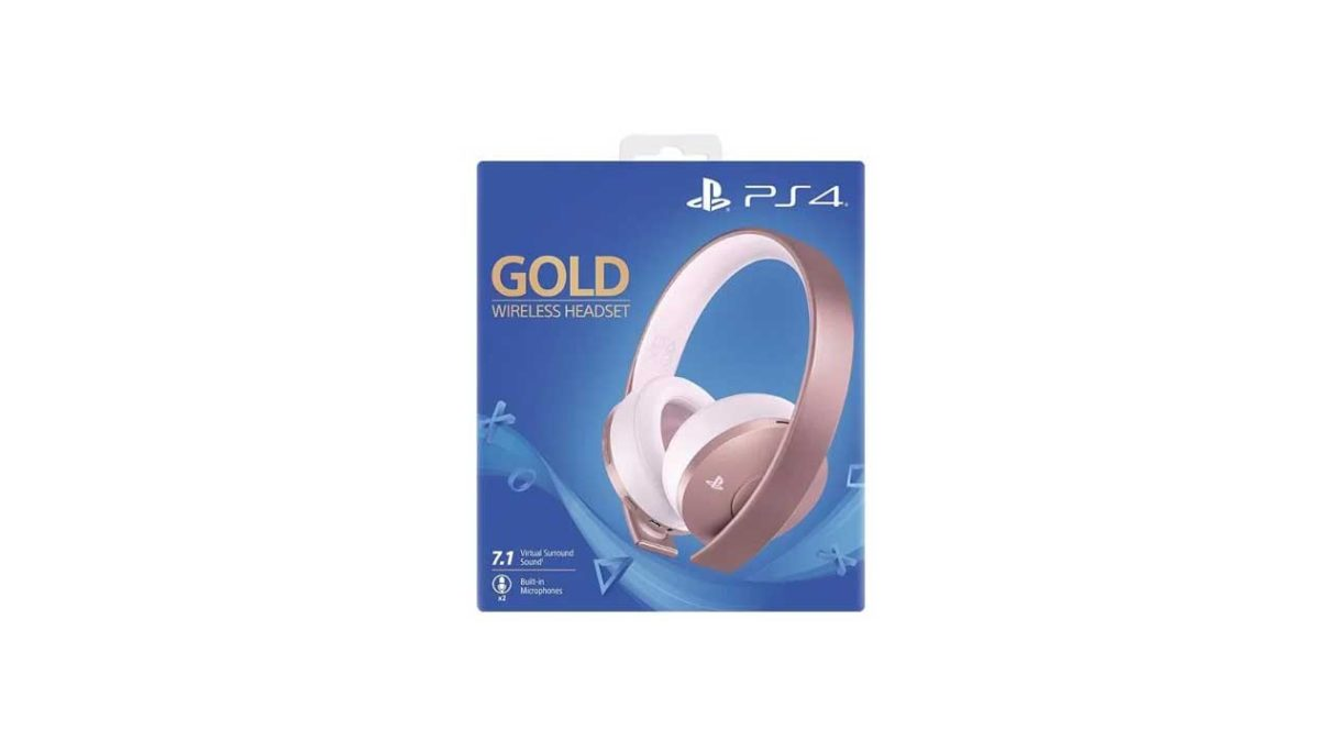 SONY PlayStation Rose Gold