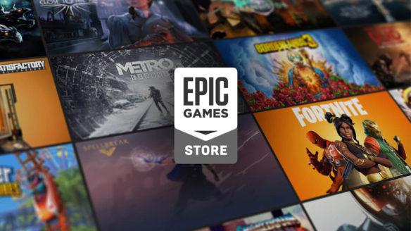 Epic Games Store - logo