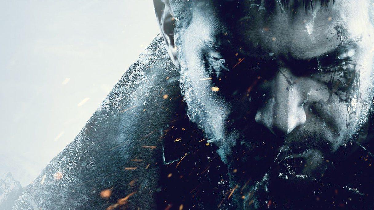 Resident Evil Village - zbliżenie na twarz jednego z bohaterów gry