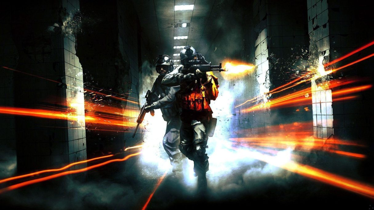 Grafika z prequela Battlefield 6