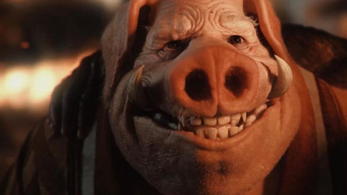 Beyond Good and Evil świnia