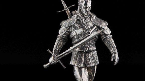 Wiedźmin - figurka-statua