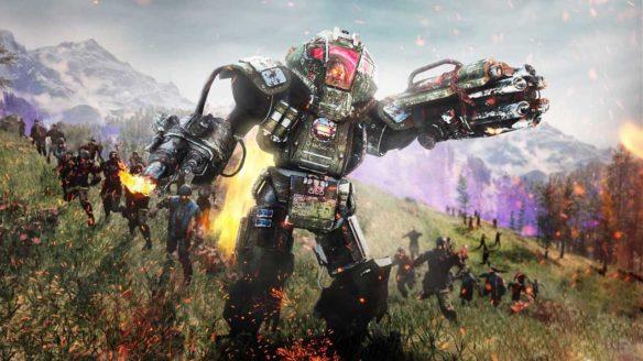 Black Ops Cold War Outbreak mech zombie