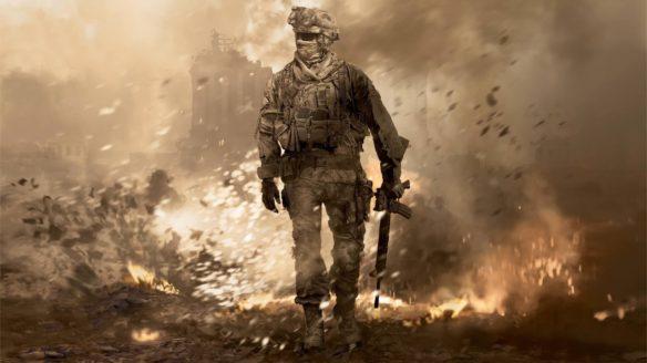 Call of Duty 2021 żołnierz