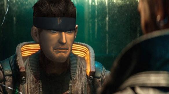 Cyberpunk Metal Gear Solid postać