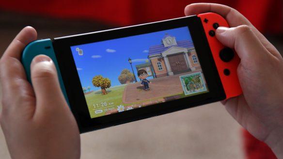 Nintendo Switch i Animal Crossing