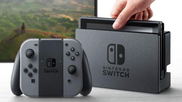Nintendo Switch - zestaw z konsolą