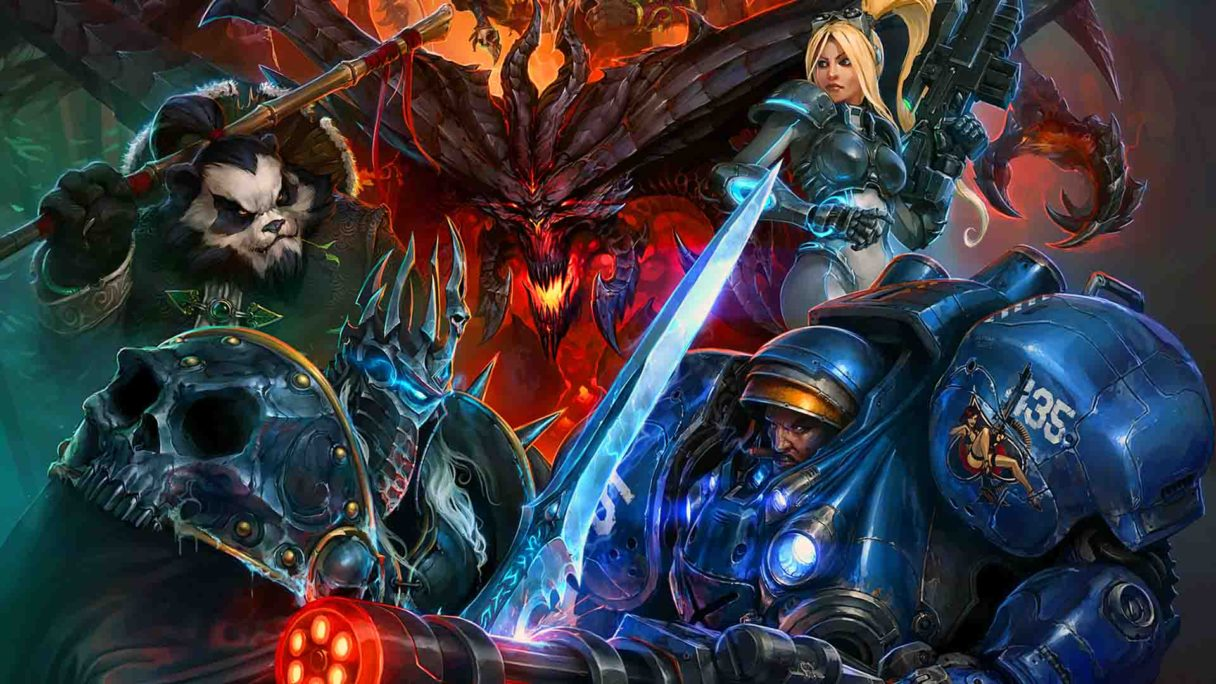 Activision Blizzard - postacie