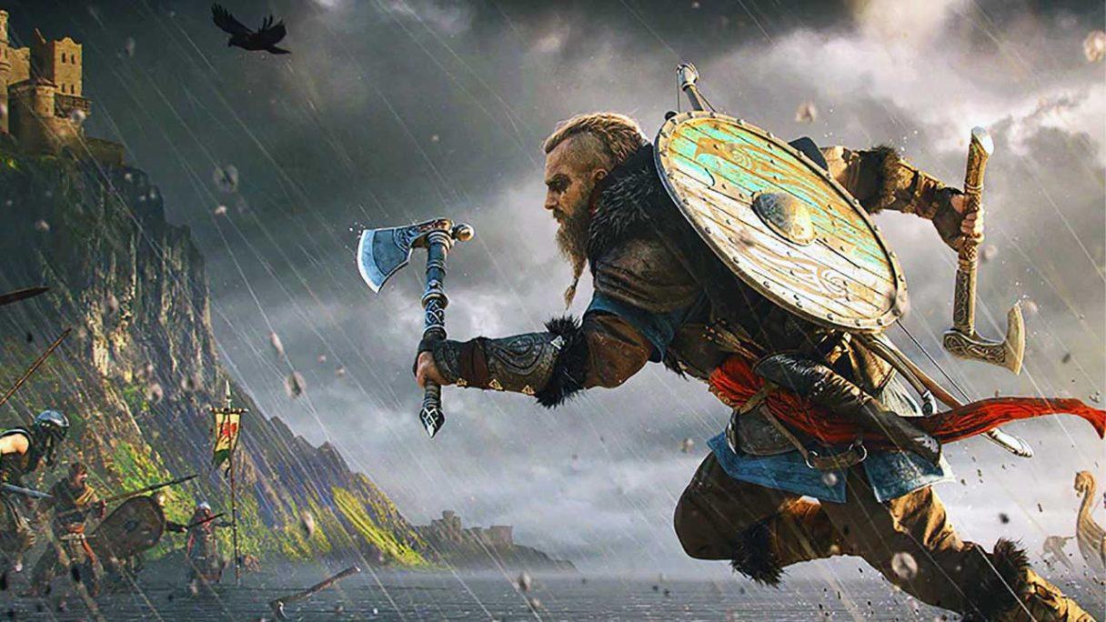 Assassin's Creed Valhalla - Eivor biegnie