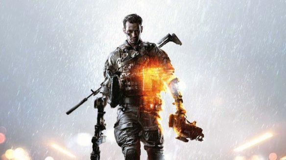 Battlefield - żołnierz grafika