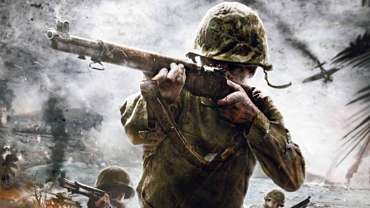 Call of Duty 2021 WW2 - żołnierz z II WŚ