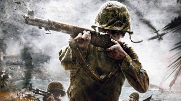 Call of Duty - żołnierz z II WŚ
