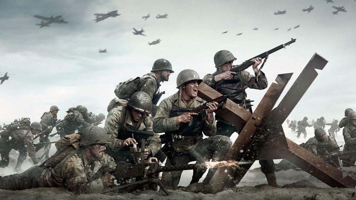 Call of Duty WW2 Vanguard - żołnierze