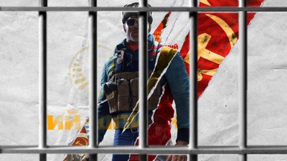 Call of Duty Black Ops Cold War - postać za kratami