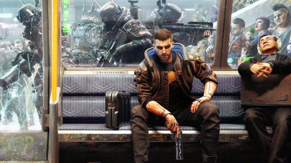 Cyberpunk 2077 - metro